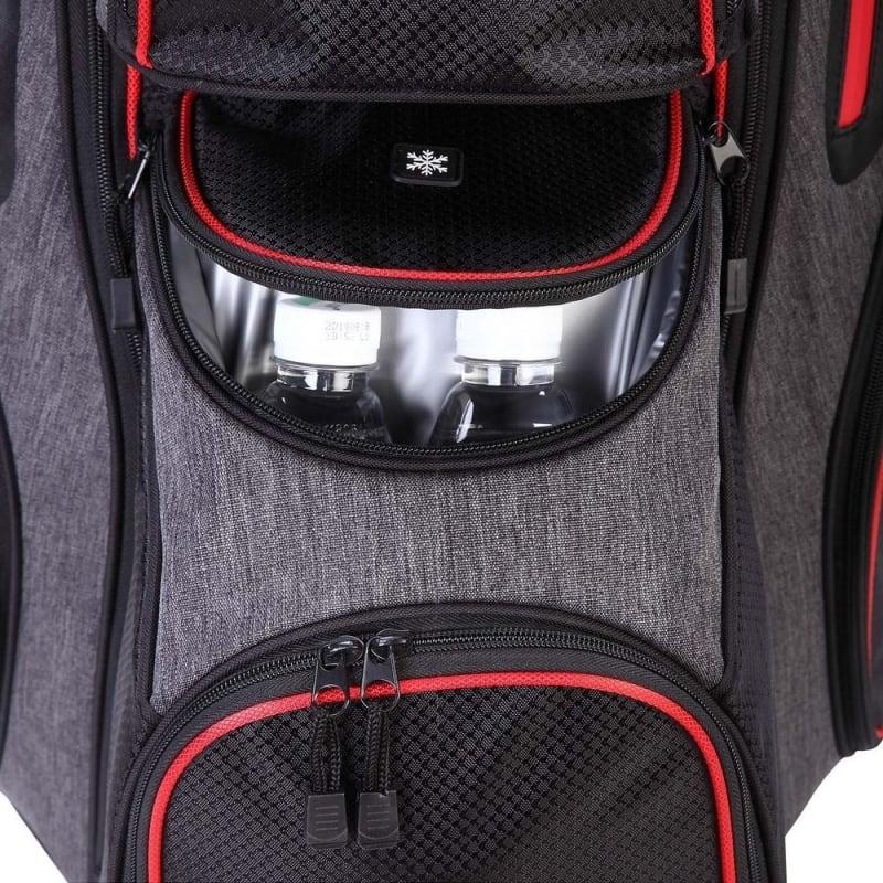 Ram Golf Tour Cart Bag with 14 Way Dividers Top #5