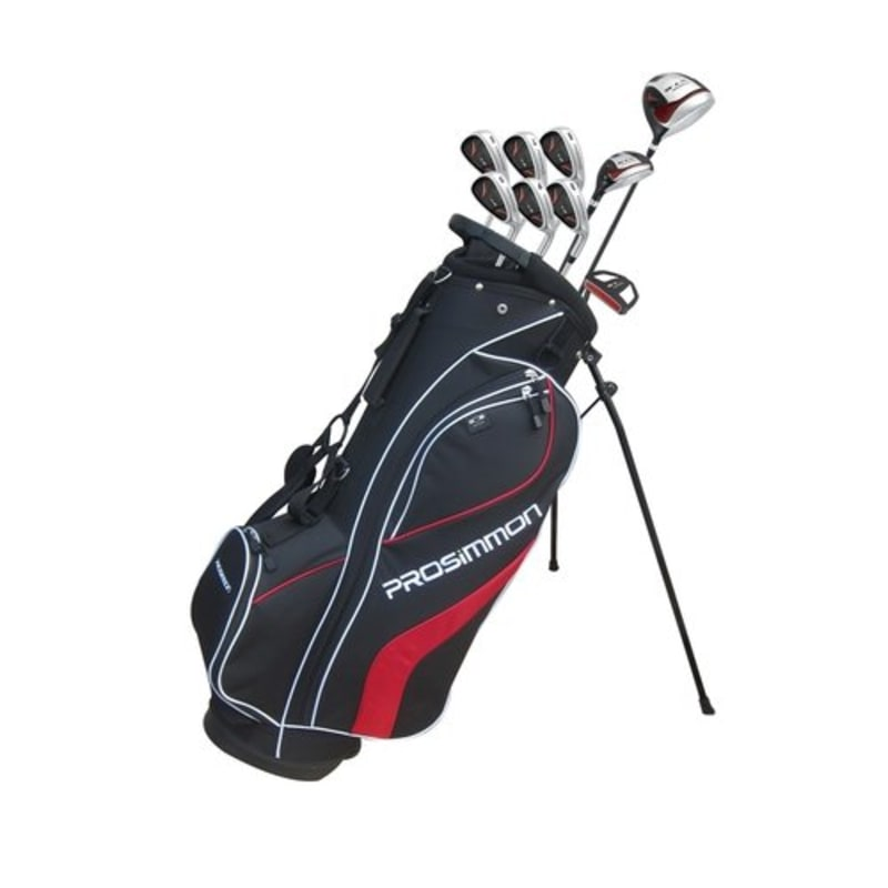 Prosimmon V7 Golf Package Set 1 Inch Longer- Black