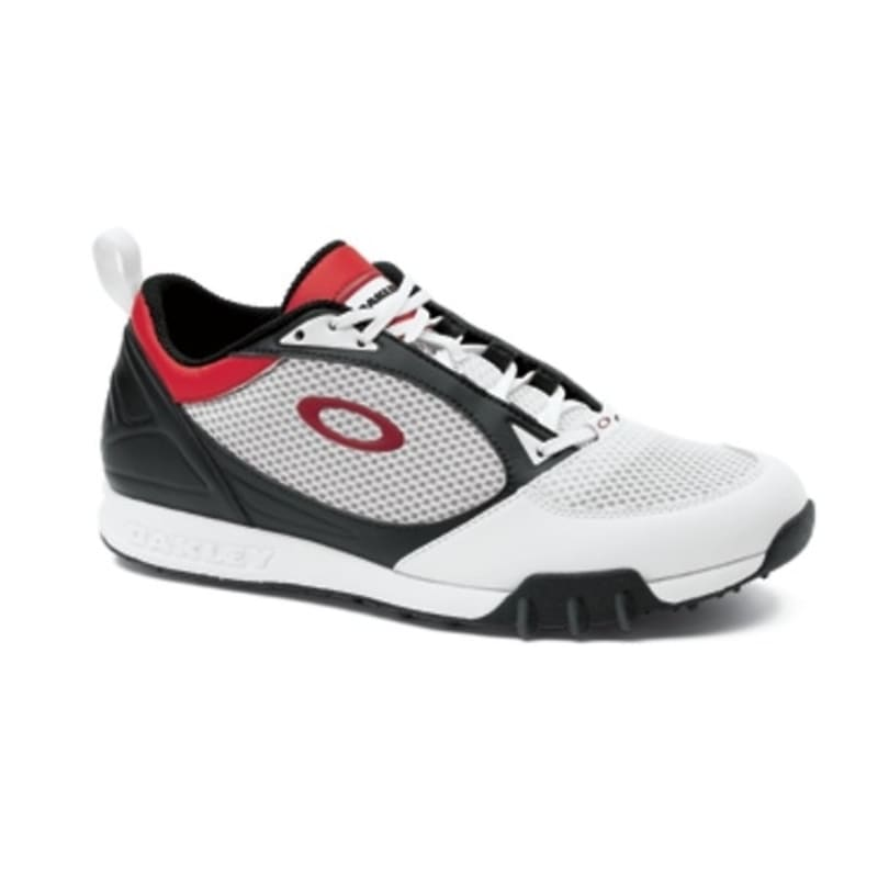 Oakley Sabre Golf Shoes - White/Red