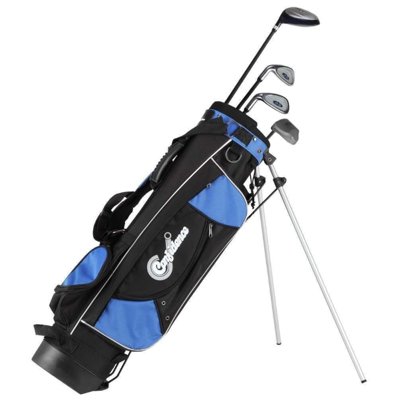 OPEN BOX Confidence Junior Tour Golf Club Set - 4 - 7 Left Hand