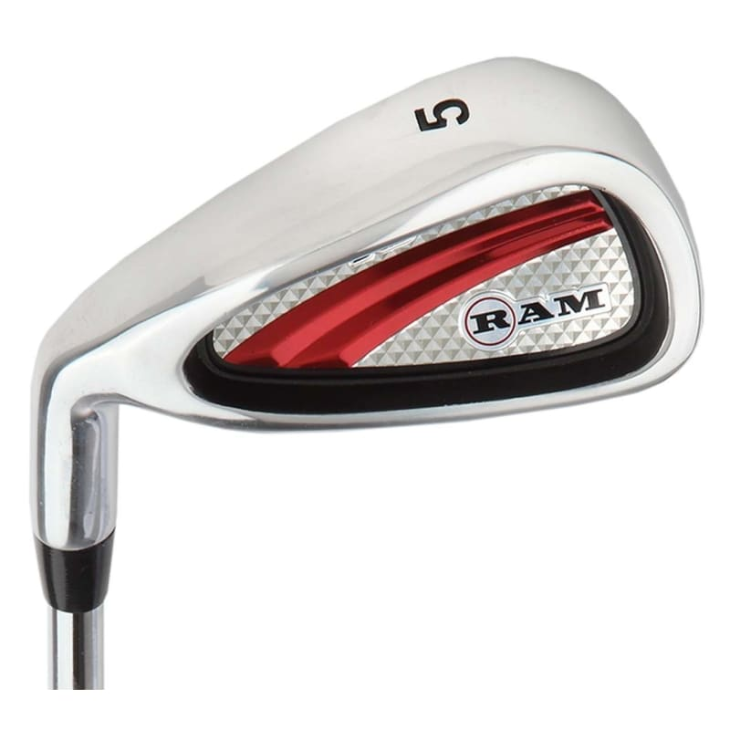 Ram Golf SGS Mens Golf Clubs Set with Stand Bag - Steel Shafts - LEFTY #1
