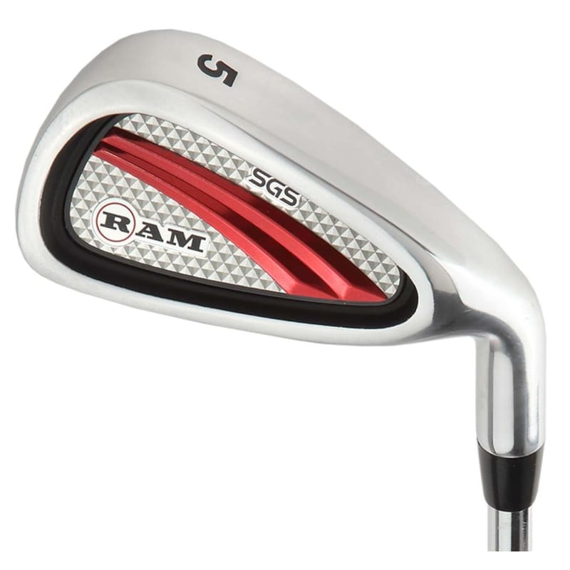 """Ram Golf SGS Mens -1"""" Golf Clubs Set with Stand Bag - Steel Shafts #1"""