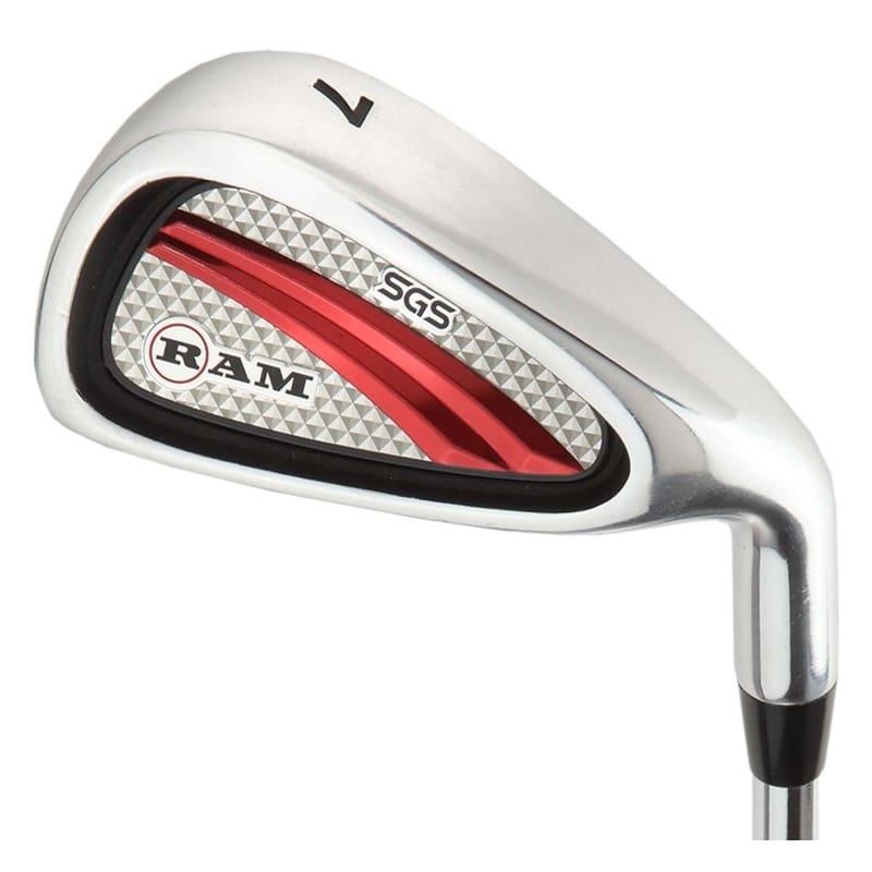 OPEN BOX Ram Golf SGS Mens Golf Clubs Starter Set with Stand Bag - Steel Shafts #2