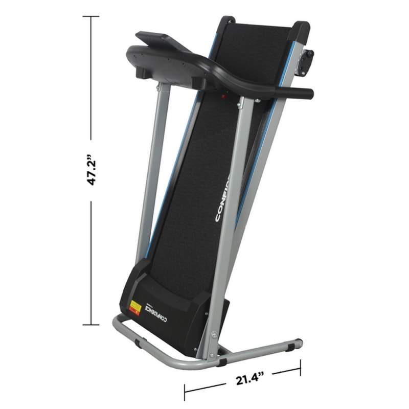 Confidence Fitness TP-2 Electric Treadmill Motorized Running Machine with Incline #8