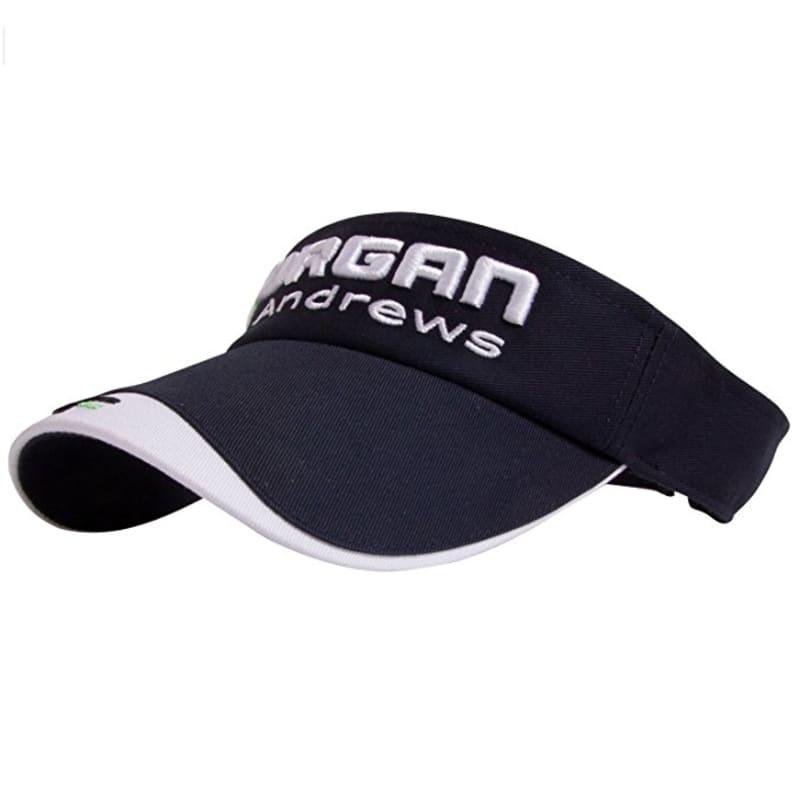 Forgan Velcro Adjustable Golf Visor Navy #