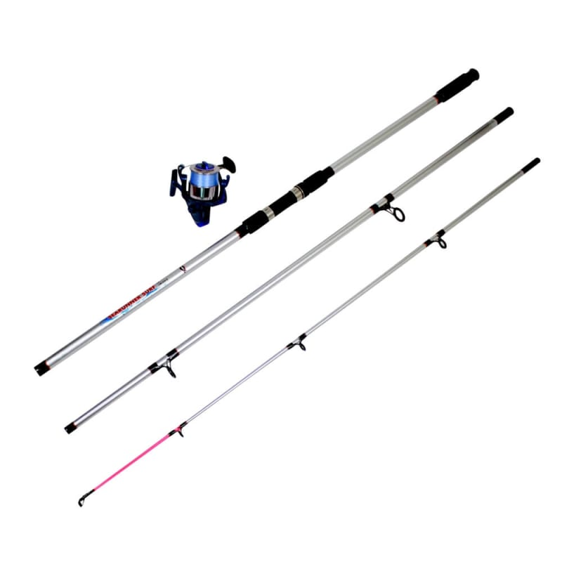 Ultra Fishing 13' Beach Sea Caster Rod + Reel