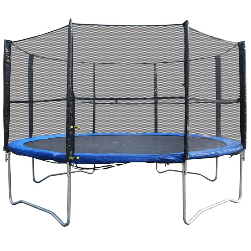 Woodworm 12FT Trampoline - Safety Net/Ladder/Cover
