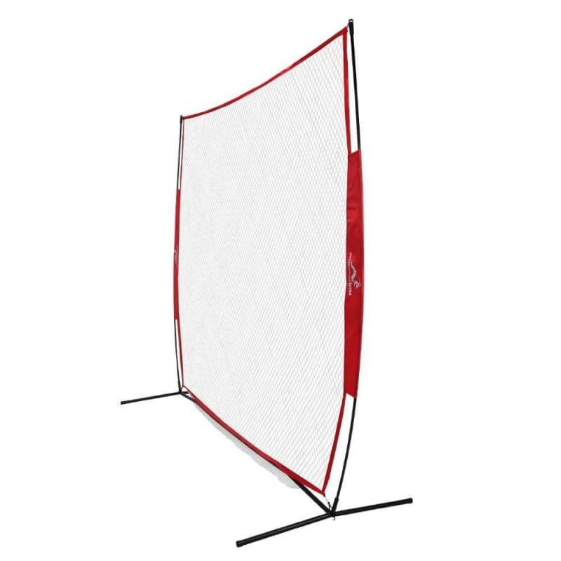 Wodoworm 7ft x 7ft Quick Up Sports Bow Frame and Net - Practice/Protective Net Screen for Baseball, Softball and Other Sports #1