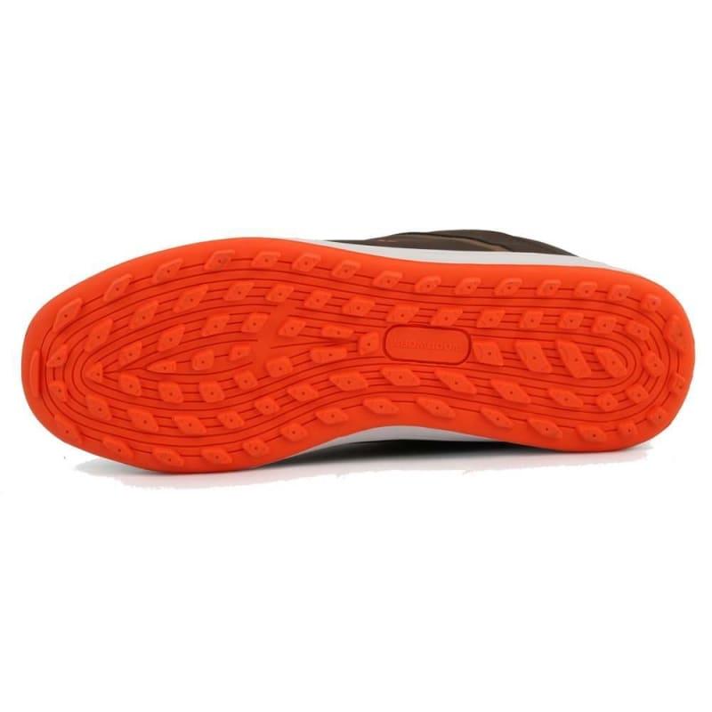 Woodworm Golf Surge V3 Mens Golf Shoes Brown/Orange #1