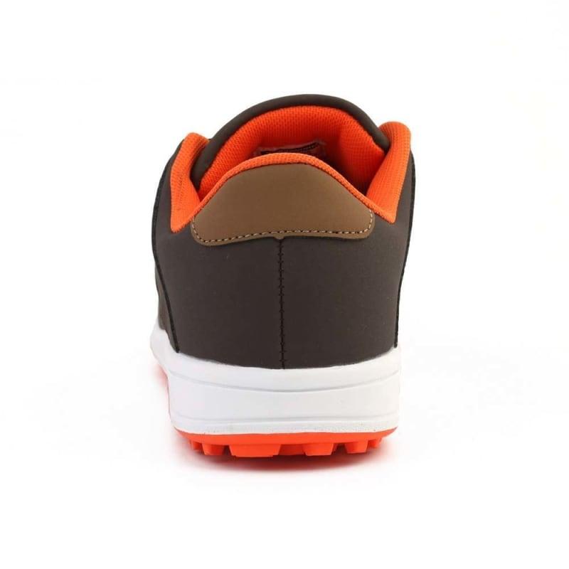 Woodworm Golf Surge V3 Mens Golf Shoes Brown/Orange #4
