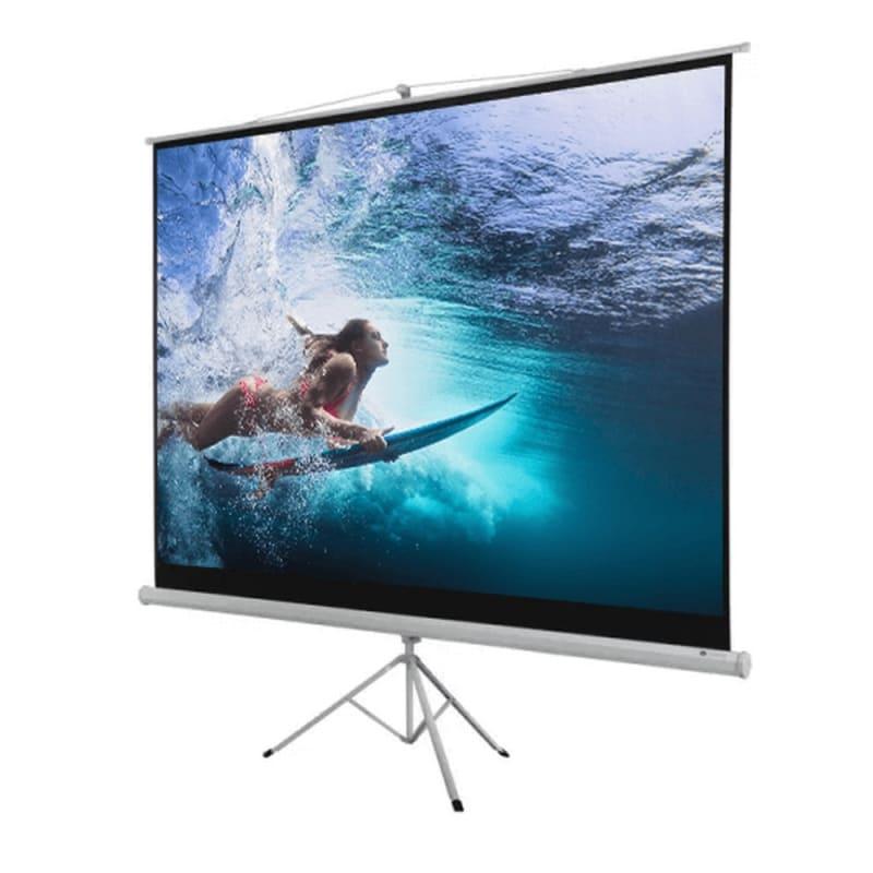 "Homegear 100"" 4:3 Tripod Projector Screen HD #2"