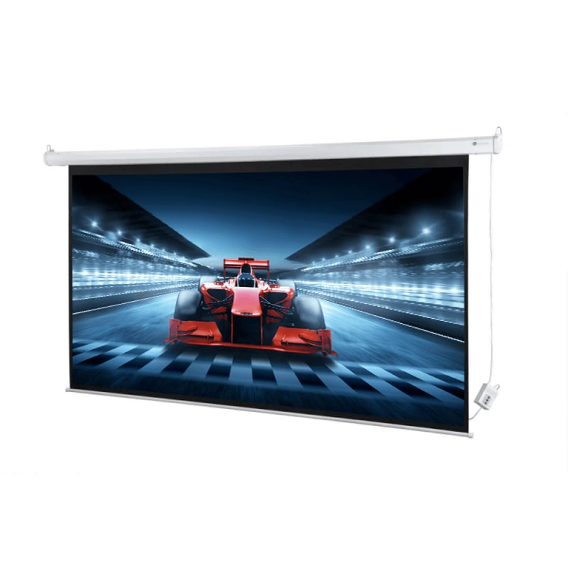 "Homegear 100"" HD Motorized 16:9 Projector Screen #2"