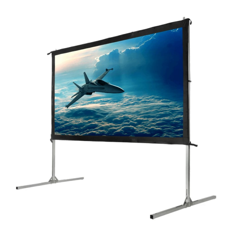 "Homegear Fast Fold Portable 90"" Projector Screen 16:9 HD for Indoor/Outdoor Use #2"