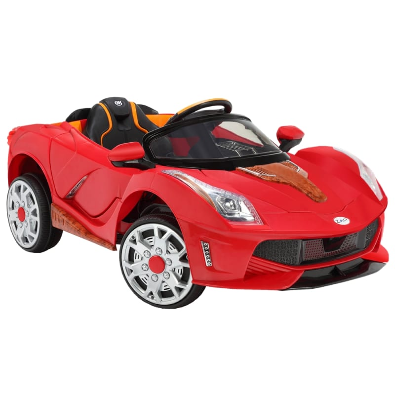 ZAAP Sports Car 12v Ride On Kids Electric Battery Toy Car Red