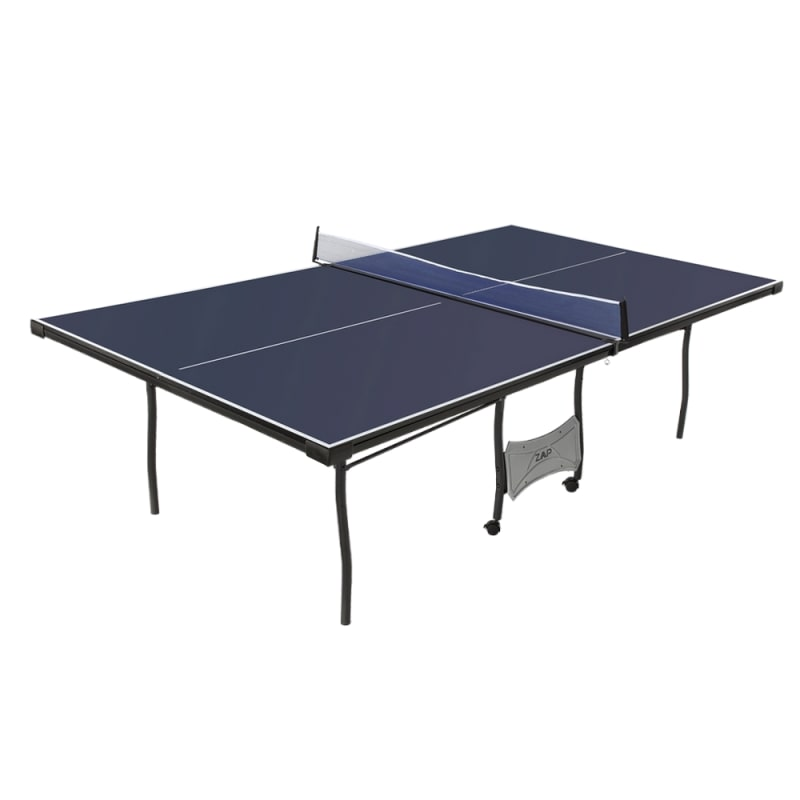 OPEN BOX ZAAP Official Full Tournament Size Table Tennis Table with Net Set
