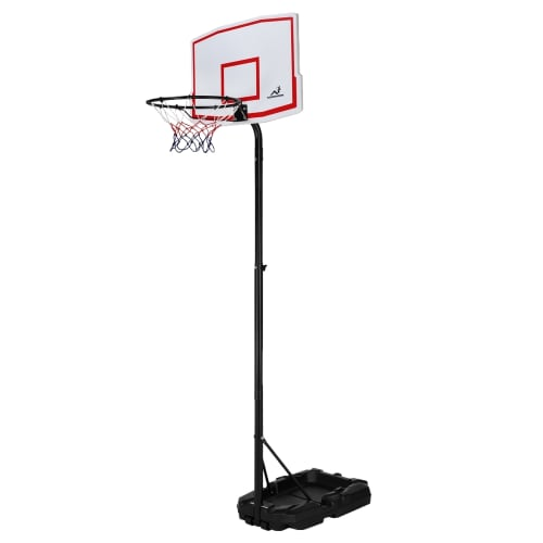 Woodworm Outdoor Adjustable Basketball Stand & Hoop Set