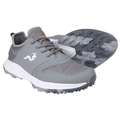 Woodworm Flame Mens Golf Shoes - Sneaker/Trainer Style - Grey