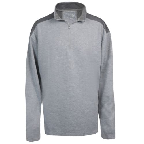 Woodworm Golf Mens Performance Pullover / Sweater / Jumper, Grey