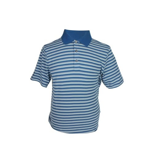Ashworth Mens Striped Polo Shirt