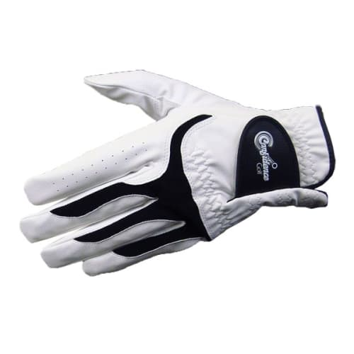 Confidence All Weather Mens Right Hand Golf Gloves 3 Pack, White