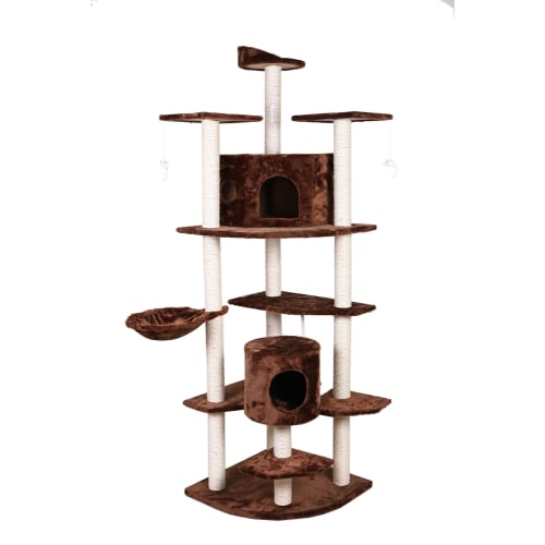 "Confidence Pet 80"" Palace Cat Tree BROWN"