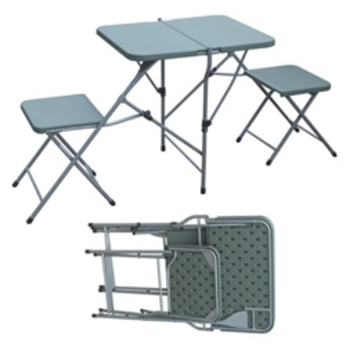 Palm Springs Portable 2 Person Picnic Set White