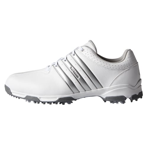Adidas 360 Traxion WD Golf Shoes White / Silver