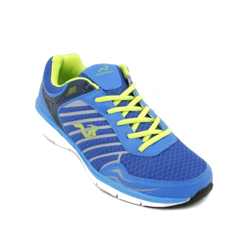 Woodworm MFS Mens Running Shoes / Trainers - Blue