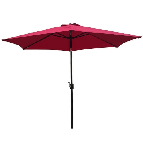 OPEN BOX Palm Springs 10ft Aluminium Patio Umbrella w/ Tilt