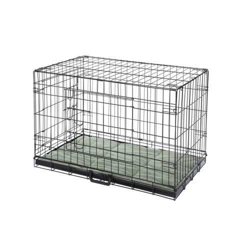 OPEN BOX Confidence Pet Dog Crate with Bed - 2X Large
