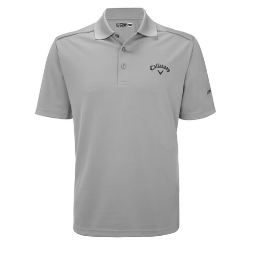 Callaway Euro Tour Chev Polo Light Grey