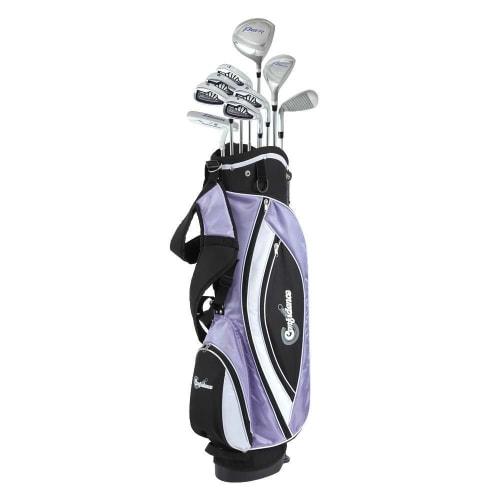 Confidence Golf Lady Power V3 Petite Club Set & Stand Bag
