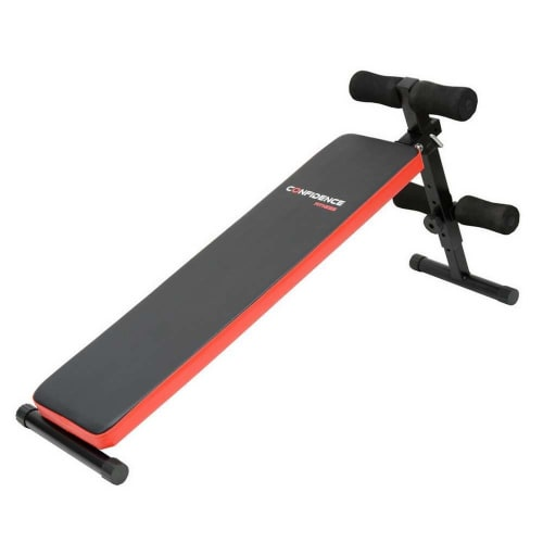 OPEN BOX Confidence Fitness Sit Up Ab Bench V2