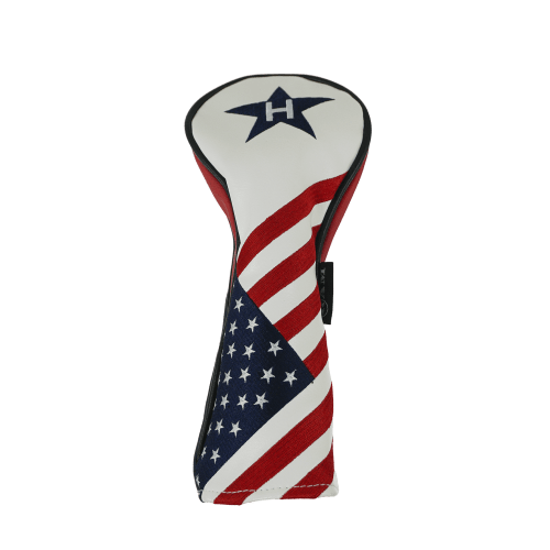 Ram Golf USA Stars and Stripes PU Leather Headcover - Hybrid