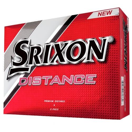 12 Srixon Distance Mens Golf Balls - 1 Dozen White