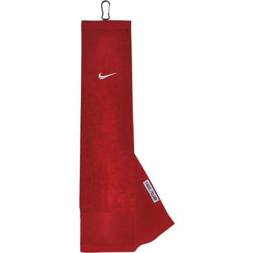Nike Golf Trifold Towel in Red