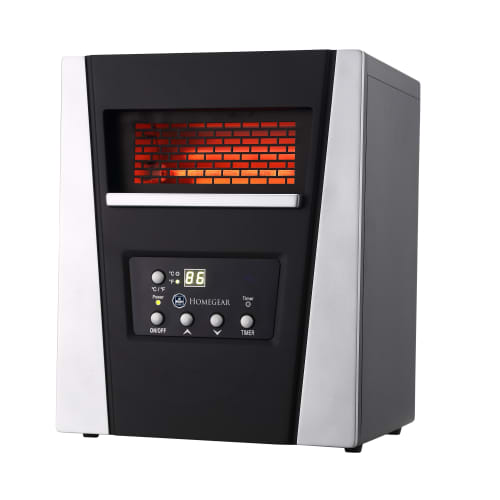 Homegear 1500W Compact Infrared Space Cabinet Heater