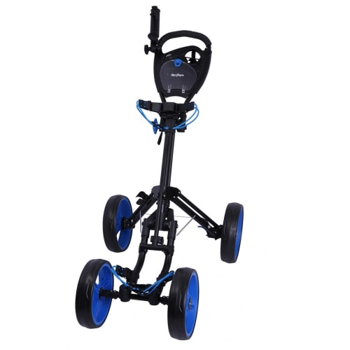 MacGregor Response Deluxe 4 Wheel Golf Cart - Black/Blue