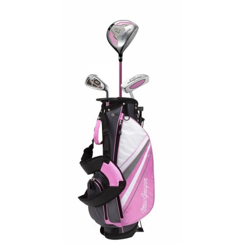 MacGregor Golf DCT Junior Girl Golf Clubs Set with Bag, Left Hand Ages 3-5