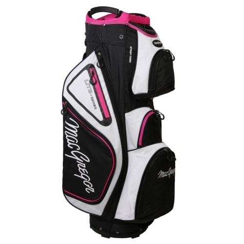 """MacGregor Golf VIP Deluxe 14-Way Ladies Cart Bag, 9.5"""" Top"""