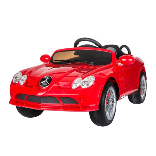 Mercedes by ZAAP SLR Roadster Sports Electric Battery Ride On Kids Toy Car with and Parents Remote Control