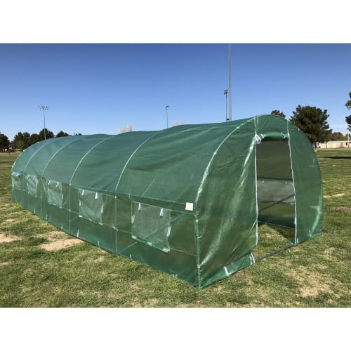 Palm Springs 10 x 26ft Polytunnel Greenhouse