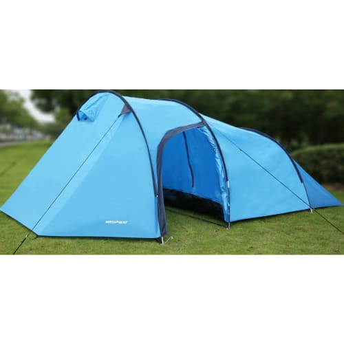 North Gear Camping Waterproof Tunnel Tent - Max 2