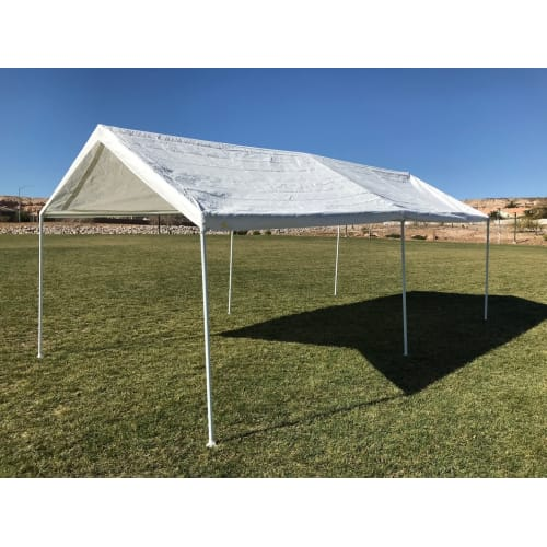 OPEN BOX Palm Springs 10 x 20 Feet Outdoor Carport Shade Canopy Party Tent
