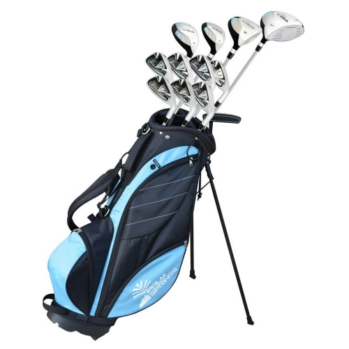 "Palm Springs Golf Visa V2 Ladies All Graphite Club -1"" Set & Bag"