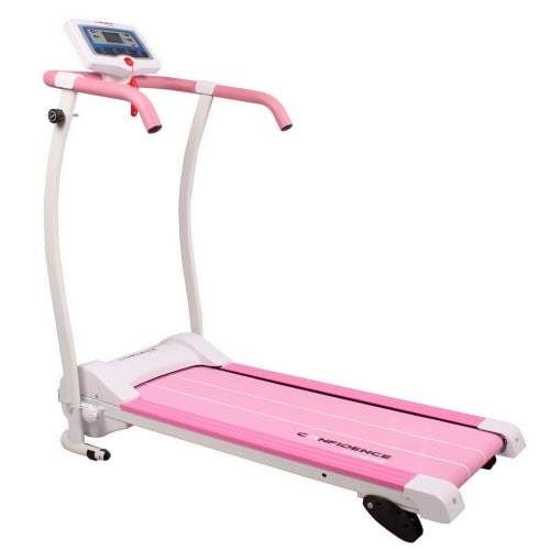 Confidence Power Trac Pro 735W Electric Motorized Treadmill Pink
