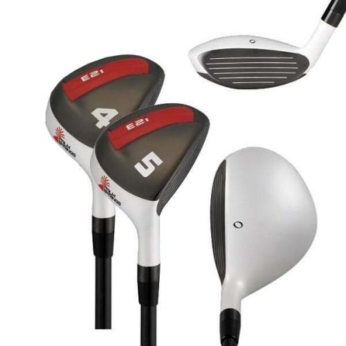 Palm Springs Golf E2i Mens 4-5 White Hybrid Set, Left Hand