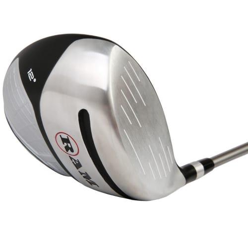 Ram Golf Laser Anti-Slice Offset 460cc Oversize Driver, Mens Right Hand