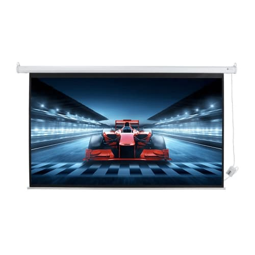 "Homegear 100"" 16:9 HD/3D Electric Projector Screen"