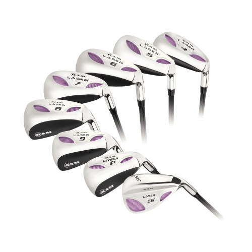 Ram Golf Laser Hybrid Irons Set 4-SW (8 Clubs) - Ladies Right Hand